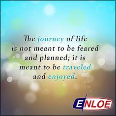 It's not the destination, but the journey.