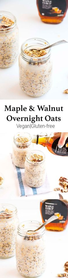 I love this overnight oats recipe not only because it is incredibly delicious, but because it only takes 5min to make and is incredibly healthy. Perfect as an on the go breakfast. http://healthyquickly.com