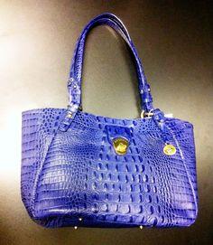 Brahmin blue handbag