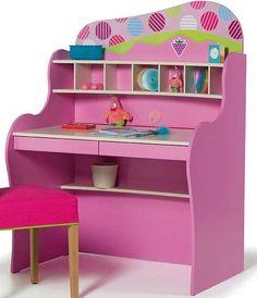 Kids Furniture USA - quality furniture for children, pink rooms for girls, Kids Furniture USA Boys & Girls Bedroom Furniture Boy Girl Bedroom, Girls Bedroom Furniture, Kids Furniture, Kids Bedroom, Bedroom Decor, Bedroom Ideas, Pink Desk, Pretty Bedroom, Pink Room