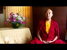 I LOVE this guy!!!!  A Guided Meditation on the Body, Space, and Awareness with Yongey Mingyur Rinpoche