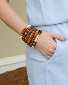 We're loving these layered bracelets! ( & they're only $10! )