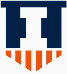 Illinois Fighting Illini Alternate Logo (2014-Present) Victory Shield