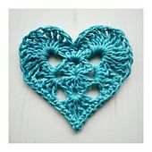 Ravelry: Granny Heart pattern by Crochet Tea Party