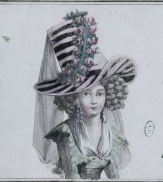 """""""1787 Tall Crown Hat"""" http://demodecouture.com/costume-portfolio/1787-tall-crown-hat/"""