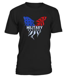 Military Veteran Tee Shirts With Eagle  #image #sciencist #sciencelovers #photo #shirt #gift #idea #science #fiction