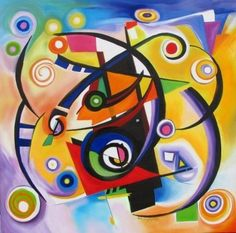 Výsledok vyhľadávania obrázkov pre dopyt kandinsky obrazy Kandinsky For Kids, Kandinsky Art, Matisse Pinturas, Post Impressionism, Beautiful Textures, Museum Of Modern Art, Art Plastique, Art Forms, Art For Kids