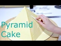 10 Year Old Makes a Pyramid Cake - KIDS CAKE STYLE - YouTube