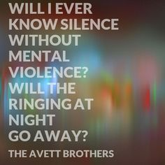 One of my all time favorite lines.  Incomplete and Insecure - The Avett Brothers
