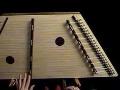 """both hands"" learn to play dulcimer with dizzy Dizzi good resources for basic lessons.  Very self explanatory."