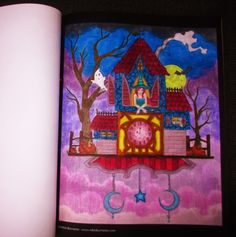 Spellbinding Images, A Grayscale Fantasy Coloring Book - prismacolor a vazelina