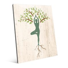 Horizon Tree Yoga' Wall Art on Acrylic