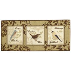 Birds and Butterflies Washable Rug  found at @JCPenney