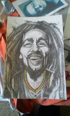Bob Marley by artist Giovanni Latorre