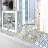 【楽天市場】モザイクタイル シート 25角 磁器質 白。キッチン・壁・床等のDIYに(144粒)ミックスデザイン モザイク タイル、おしゃれなレトロモダン風。浴室(お風呂)・玄関・テーブル等のDIYリフォームにOK。インテリア建材・日本製・美濃焼モザイクタイルです:タイル通販 タイルオンライン