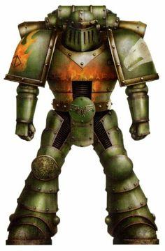 Salamanders mk 2 crusade armour