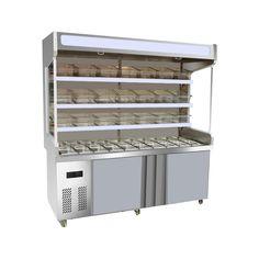 Lecon陽guofu新鮮なキャビネットショーケースを冷蔵庫malatang皿オーダーキャビネット機器LC-MG6