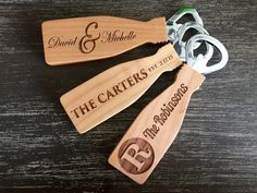 Personalized Magnetic Bottle Openers - 3 Classic Designs {Jane Deals}