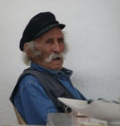 Old Greek Fisherman (photo by Peggy Mooney)