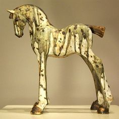 Trojan horse By Irish artist Marina Hamilton Irish
