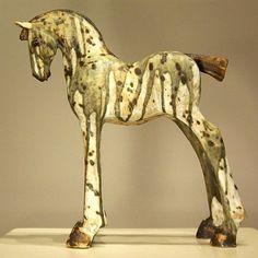 Trojan horse By Irish artist Marina Hamilton Irish