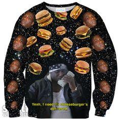Cheeseburger X Gucci Mane Sweater – Shelfies