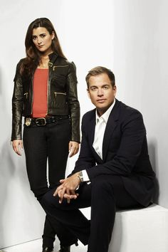 NCIS: Tony and Ziva - I love this outfit she has and the jacket!