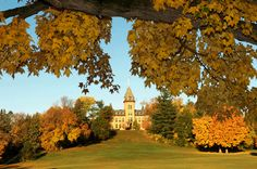Old Main; St. Olaf College