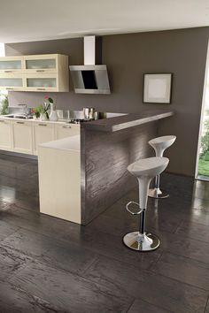 Ceramic Tile that Looks like wood- Future Bathroom Fondovalle~ Italian click the image or link for more info. Modern Flooring, Wide Plank Flooring, Flooring Ideas, Flooring Options, Wood Grain Tile, Wood Tile Floors, My Home Design, House Design, Floor Design