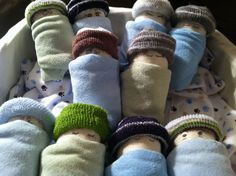Little boy baby shower gift. Socks, diapers, and washcloths.