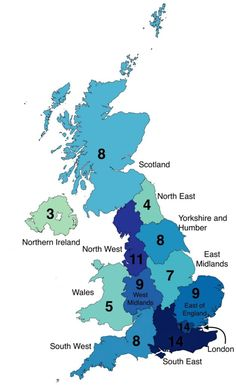 If 100 people lived in the UK, where would they live? Land Surveyors, Map Maker, Bored Panda, Countries Of The World, Cartography, About Uk, High Quality Images, Smurfs, Perspective