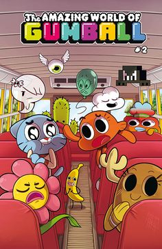 Cover for The Amazing World of Gumball Get it from BOOM! The Amazing World of Gumball Collage Mural, Bedroom Wall Collage, Photo Wall Collage, Picture Wall, Retro Wallpaper, Aesthetic Iphone Wallpaper, Cartoon Wallpaper, Foto Poster, Poster Wall