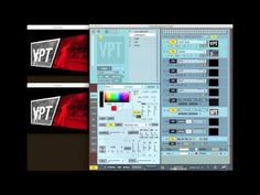 VPT (VideoProjectionTool) is a free multipurpose realtime projection software tool for Mac and Windows created by HC Gilje.