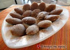Greek Recipes, Almond, Recipies, Food And Drink, Health Fitness, Sweet, Desserts, Recipes, Postres