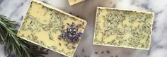 DIY Lavender And Rosemary Soap