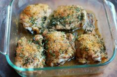 Simple Dinner Recipes: Kid Friendly Chicken Thighs