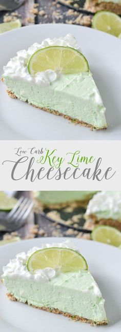 Low Carb Key Lime Cheesecake   http://www.motherthyme.com