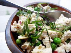 Vegan Breakfast: Springtime Tofu Scramble