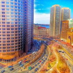 Another fantastic view from the 14th floor of Independence Wharf #fortpoint #boston #igboston #igersboston