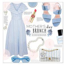 """Mother's Day Brunch"" by jckallan ❤ liked on Polyvore featuring Gül Hürgel, Stuart Weitzman, Chanel, Allurez, Bling Jewelry, Marc Jacobs, Yves Saint Laurent, Karen Walker, Whiteley and mom"