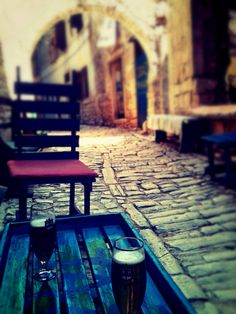 Momento di relax estivo. Croazia