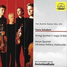 Auryn Quartet - Schubert: Auryn Series: Vol. 8