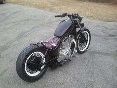 87 Intruder by Phillip Allen | Bobber Inspiration - Bobbers and Custom Motorcycles November 2014