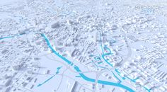 My first foray into 3D map art using dedicated 3d software, examples include Manchester, Edinburgh, Bath and North Wales.