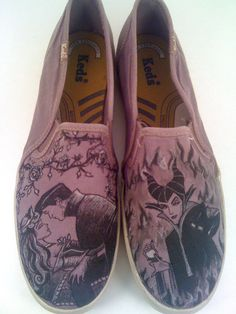 af6af8bdb1f Items similar to Disney Sleeping Beauty Custom Made Shoes ARTWORK ONLY Shoes  not included on Etsy