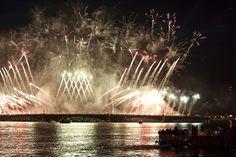 Scarlet Sails celebration in St Petersburg