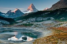 Og Lake Campsite, Mount Assiniboine, Alberta.  Another fantastic Flickr account.