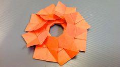 Origami Spring Primrose Wreath Coaster