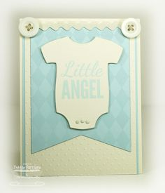 Baby Onesie Die-namics and Stamp Set - Debbie Carriere