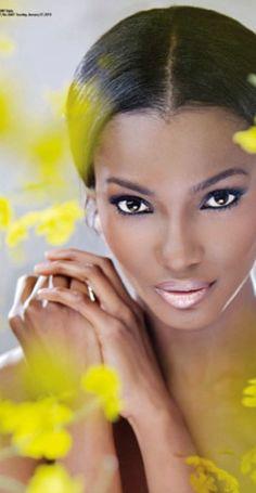 Welcome to Linda Ikeji's Blog: Agbani Darego shines in Thisday Style